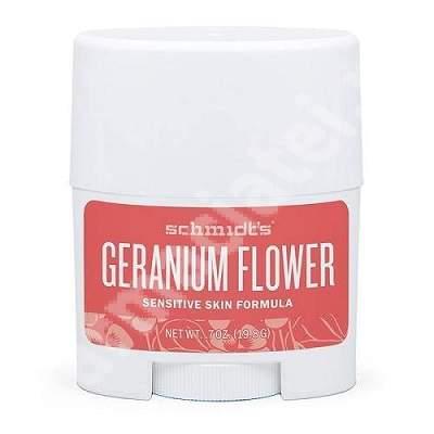 Deodorant pentru piele sensibila cu Floare de muscata, 19.8 gr, Schmidt's