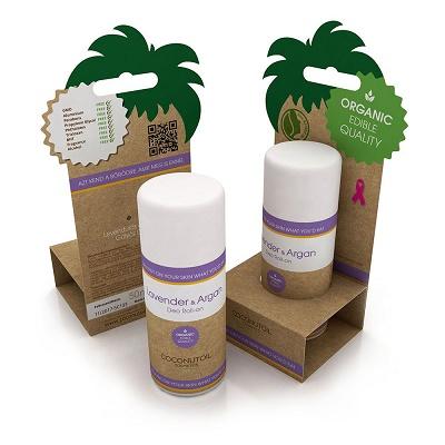 Deodorant Roll Lavanda Bio (DEOL698), 50 ml, Coconutoil