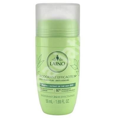 Deodorant roll-on 24h cu ceai verde, 50 ml, Laino
