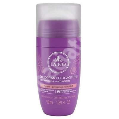 Deodorant roll-on 24h cu smochine, 50 ml, Laino