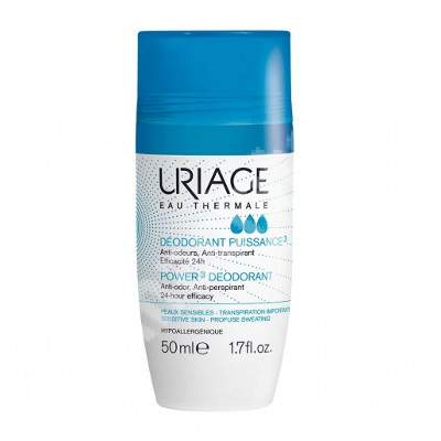 Deodorant roll-on Puissance, 50 ml, Uriage