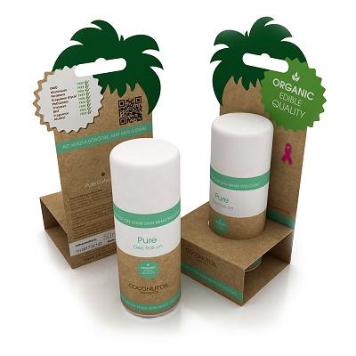 Deodorant Roll On Pure Natural Bio (DEOP697), 50 ml, Coconutoil