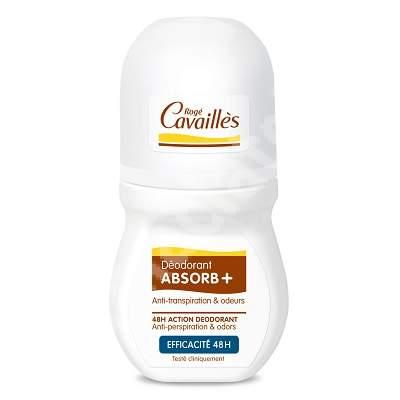 Deodorant roll-on reglator ABSORB+, 50 ml, Roge Cavailles