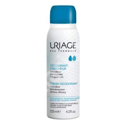Deodorant spray cu piatră de alaun, 125 ml, Uriage