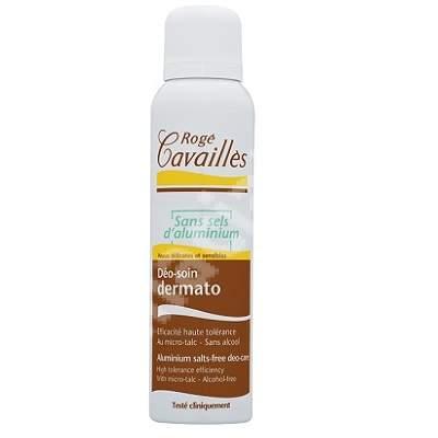 Deodorant spray dermatologic fara saruri de aluminiu, 150 ml, Roge Cavailles