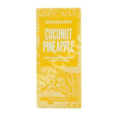 Deodorant stick Cocos si Ananas, 92 g, Schmidt's