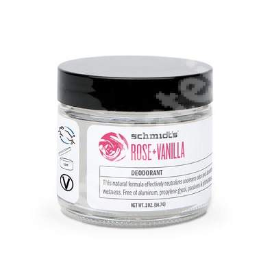 Deodorant Trandafir si Vanilie, 56.7 g, Schmidt's