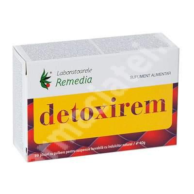 Detoxirem, 10 plicuri, Remedia