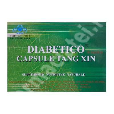 Diabetico - Capsule Tang Xin, 18 capsule, China