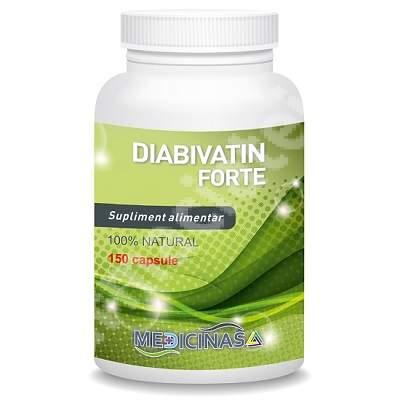 Diabivatin Forte, 150 capsule, Medicinas