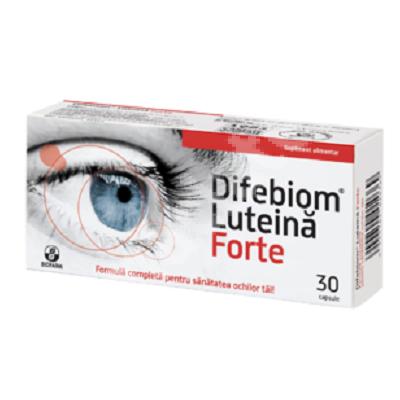 Difebiom Luteină Forte, 30 capsule, Biofarm