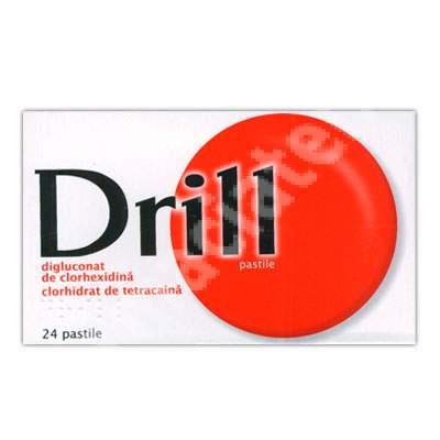 Drill, 24 pastile, Pierre Fabre
