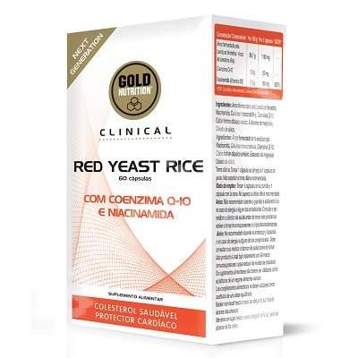 Drojdie de orez rosu, 60 capsule, Gold Nutrition
