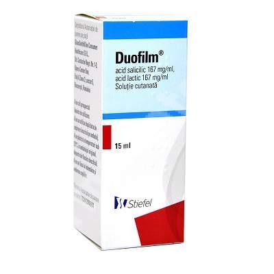 Soluție cutanată - Duofilm, 15 ml, Stiefel