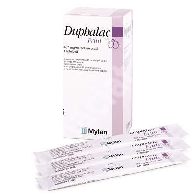 Duphalac Fruit 667 mg/ml, 20 pliculete, Mylan