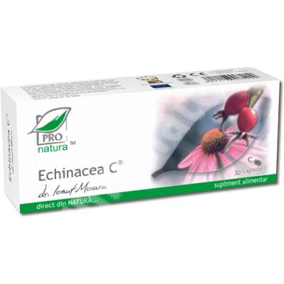 Echinacea C, 30 capsule, Pro Natura