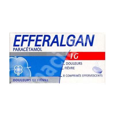 Efferalgan 1g, 8 comprimate, Ursapharm Arzeimittel