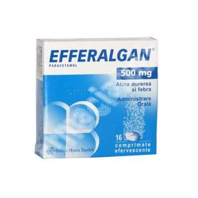 Efferalgan paracetamol 500 mg, 16 comprimate, Bristol-Myers Squibb