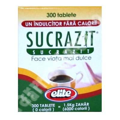 Elite - Sucrazit, 300 tablete, Biscol
