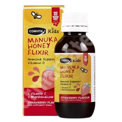 Elixir Manuka Kids cu miere de Manuka, 100ml, Comvita
