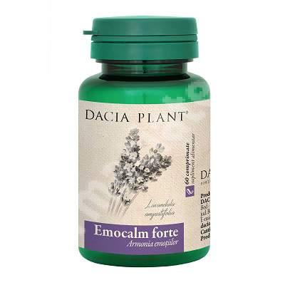 Emocalm forte, 60 comprimate, Dacia Plant