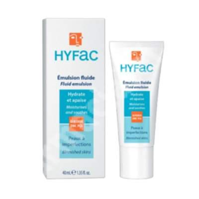 Emulsie fluida hidratanta, 40 ml, Hyfac