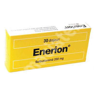 Enerion 200 mg, 30 capsule, Laboratoires Servier