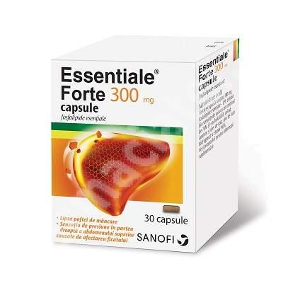 Essentiale Forte 300 mg, 30 capsule, Sanofi Aventis