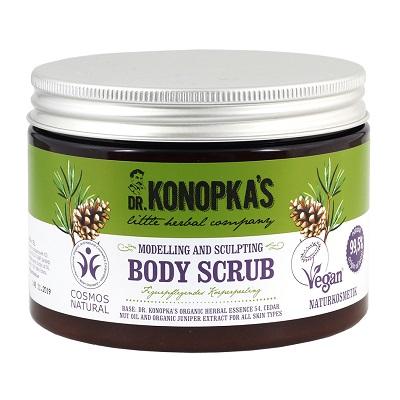 Exfoliant pentru modelarea și sculptarea corpului, 500 ml, Dr. Konopkas