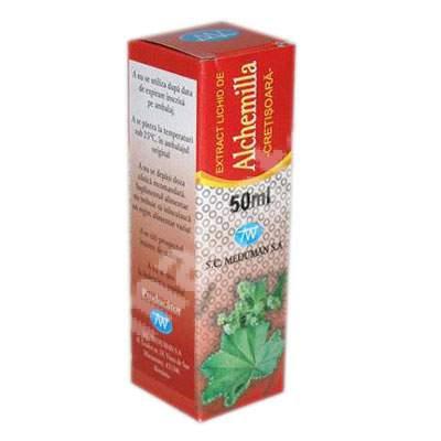 Extract de cretisoara Alchemilla, 50 ml, Meduman Viseu