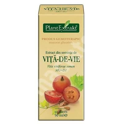 Extract din seminte de vita-de-vie, 50 ml, Plant Extrakt