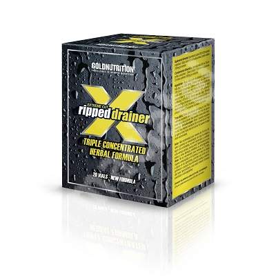 Extreme Cut Ripped Drainer, 20 flacoane x 10 ml, Gold Nutrition