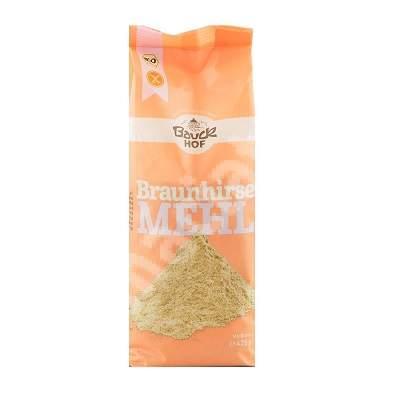 Faina integrala de mei brun Bio fara gluten, 425 g, Bauckhof