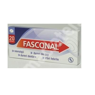 Fasconal, 20 comprimate, Gedeon Richter Romania