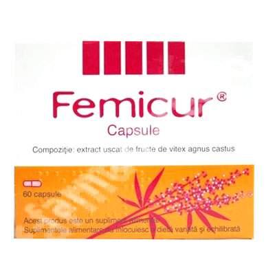 Femicur, 60 capsule, Schaper & Brummer