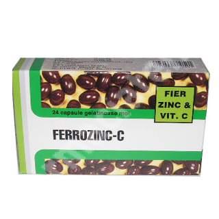 Ferrozinc-C, 24 capsule, Pharco