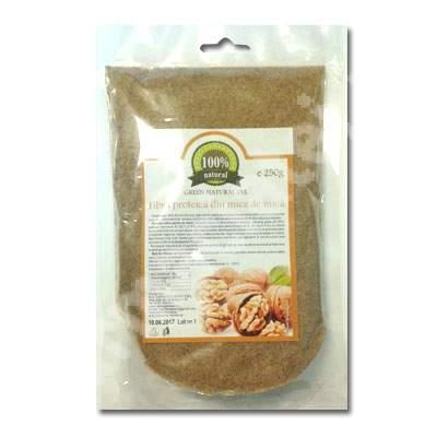 Fibra proteica din miez de nuca, 250 g, Carmita Classic