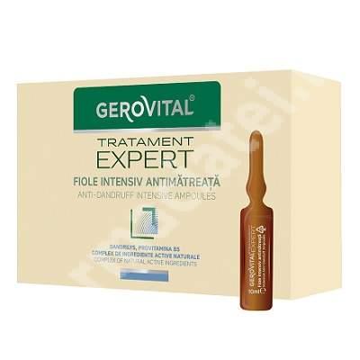 Fiole intensiv antimatreata Gerovital TratamentExpert, 10 fiole x 10 ml, Farmec