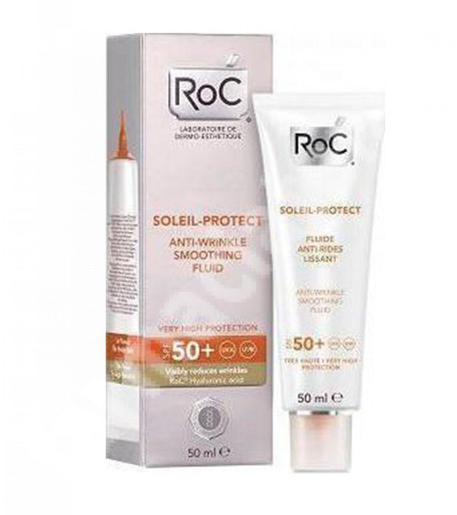 Fluid antirid catifelant Soleil Protect SPF 50+ (50 ml), Roc
