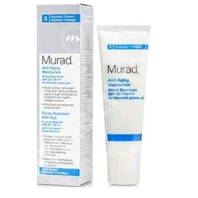 Fluid hidratant Anti-Aging Moisturizer SPF 20, 50 ml, Murad