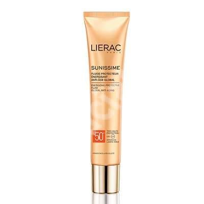 Fluid protector energizant pentru fata SPF 50+ Sunissime, 40 ml, Lierac