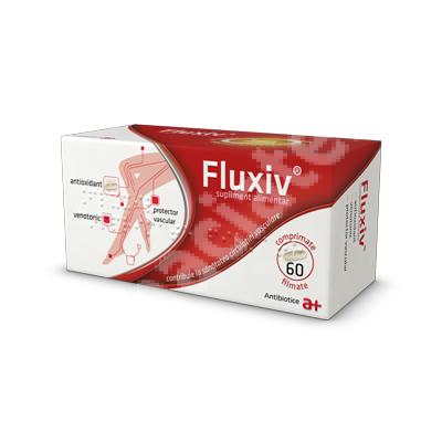 Fluxiv, 60 comprimate, Antibiotice SĂ