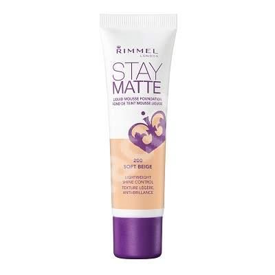 Fond de ten Stay Matte 200 Soft Beige, 30 ml, Rimmel London