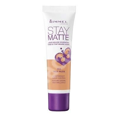 Fond de ten Stay Matte 303 True Nude, 30 ml, Rimmel London