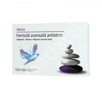 Formula avansata antistres, 60 + 60 + 30 comprimate, Alevia