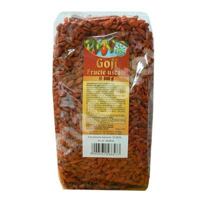 Fructe uscate Goji, 500 g, Herbavit