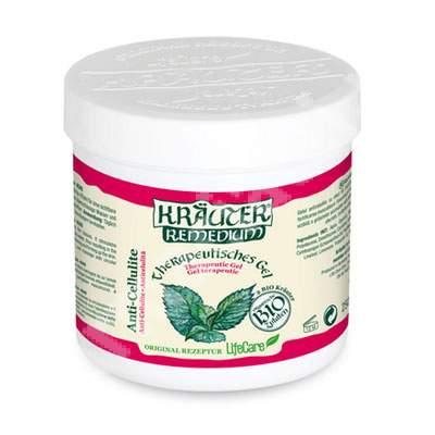 Gel anticelulitic Bio cu menta Krauter Remedium, 250 ml, LifeCare