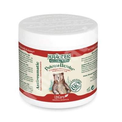Gel antireumatic Bio cu plante - Puterea Ursului Krauter Remedium, 250 ml, LifeCare