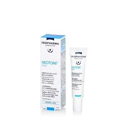 Gel-crema anticearcan Neotone eyes, 15 ml, Isispharma