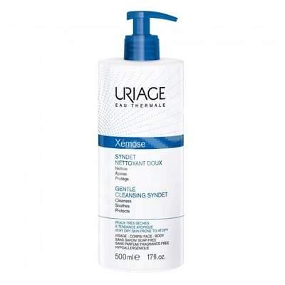 Gel-crema de curățare Xemose Syndet, 500 ml, Uriage